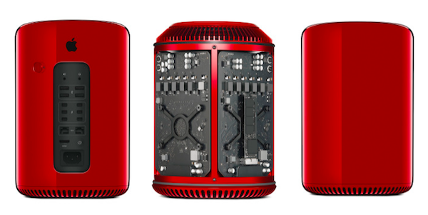 Macpro product red