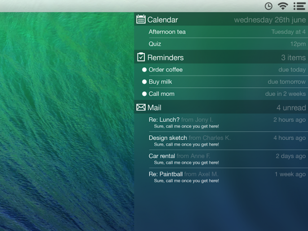 OS X Concept Images