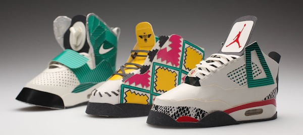 Sneakers made with cigarettes