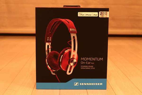 MOMENTUM On Ear Red