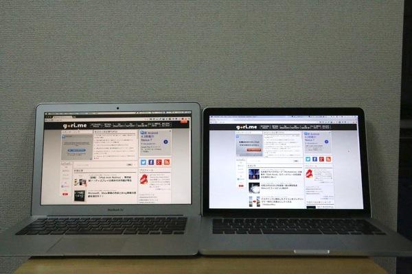 MacBookAir MacBookProRetina