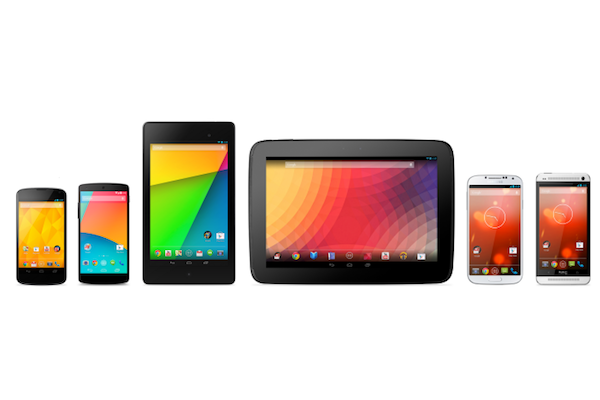 Android kitkat updates