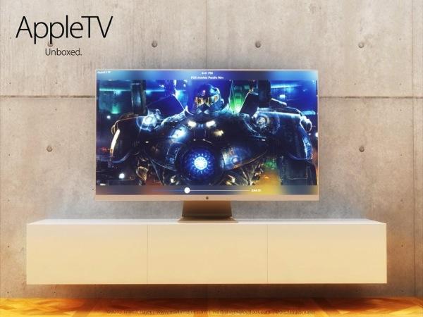 Apple iTVデザインコンセプト