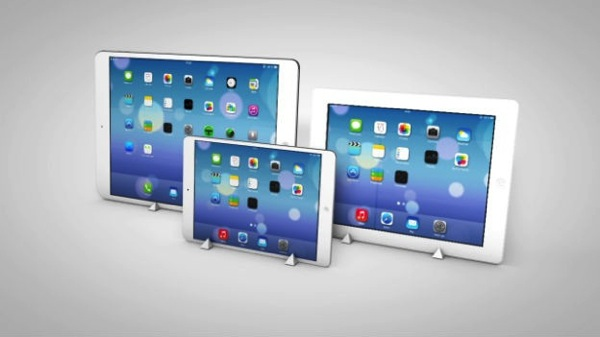Large ipad in production