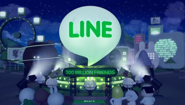Line 3 million friends