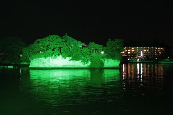 松島遊覧船フェリー「仁王丸」