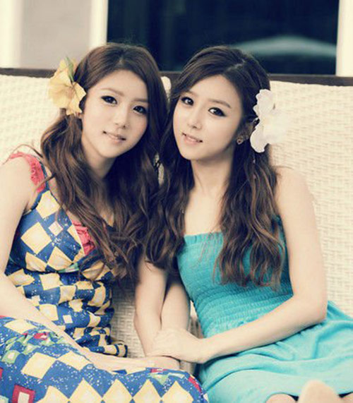 Korean Sisters with Plastic Surgery