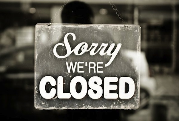 Sorry we re closed
