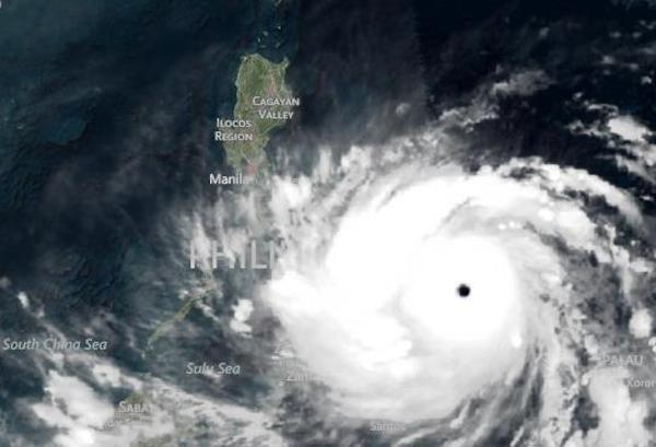 台風30号