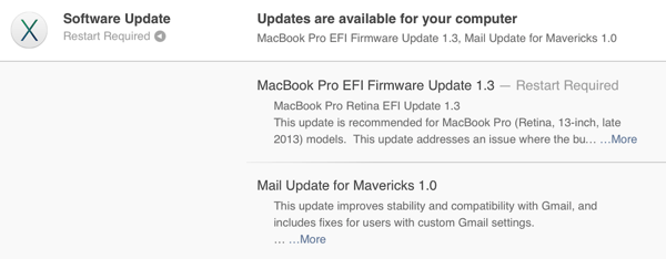Mail Updates