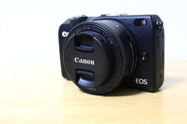 「Canon EOS M2」+「EF-M22mm F2 STM」