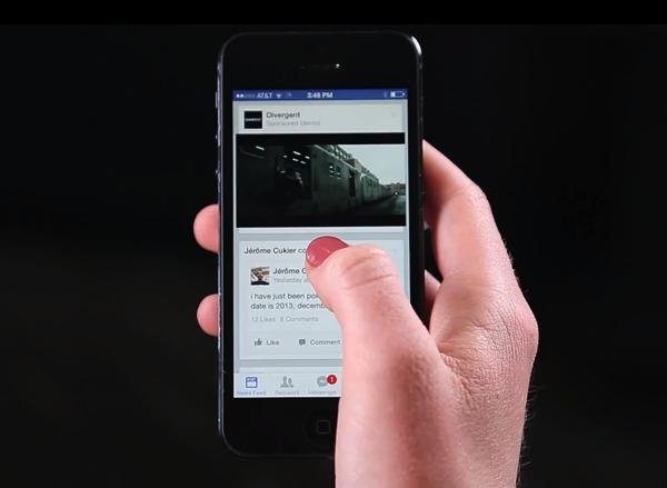 Facebook autoplay movie ads