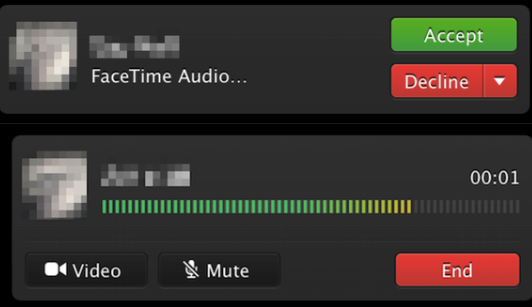 Facetime audio for mac