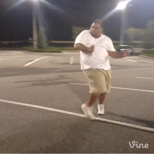 Fatman dancing