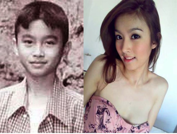 From boy to beautiful girl