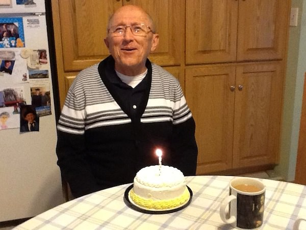 Grandpa with alzheimer birthday
