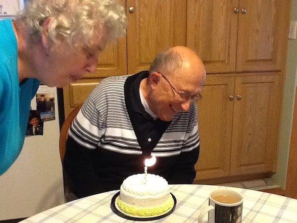 Grandpa with alzheimer birthday
