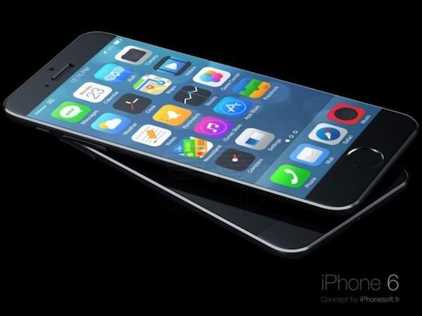 iPhone 6 running iOS 8