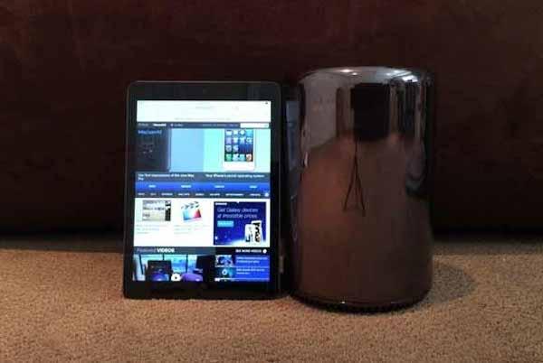 Mac Pro (2013)VS iPad Air