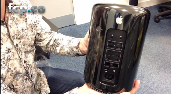 Mac Pro 2013 Unboxed