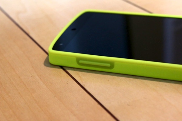 Nexus 5 Bumper Case (Bright Yellow)