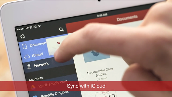 Pdf sync with icloud