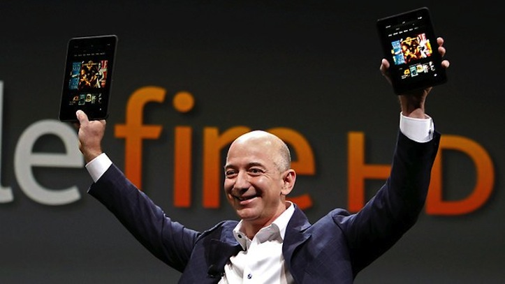 Amazon Bezos Kindle