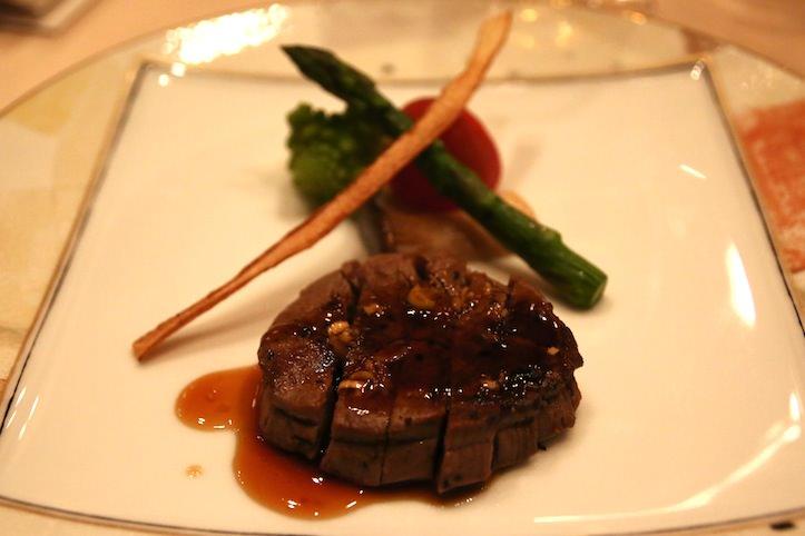 椿山荘の食事