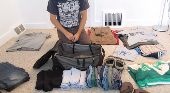 Amazing packing technique