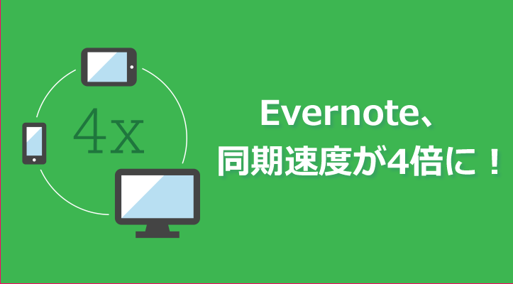 Evernote sync speed