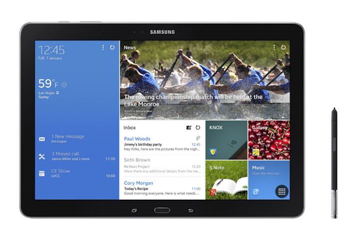 Galaxy NotePro 12.2インチタブレット