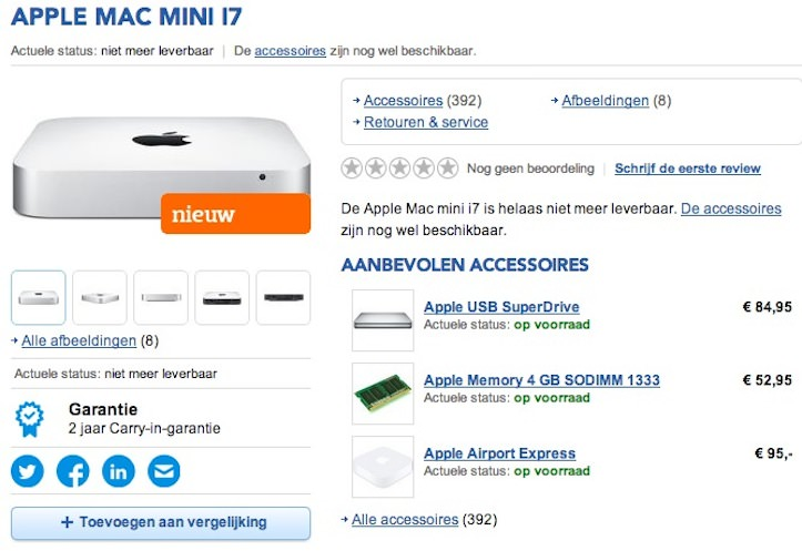 Mac mini haswell