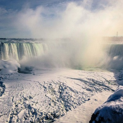 Niagara Falls Freezing