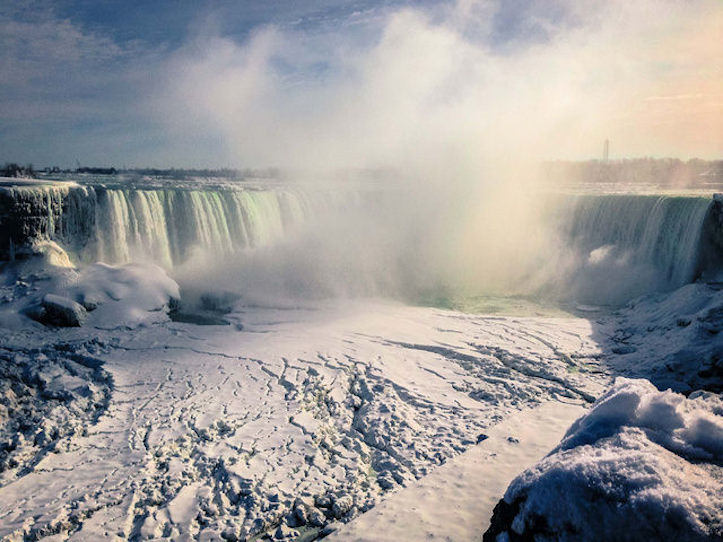 Niagara Falls Freezing