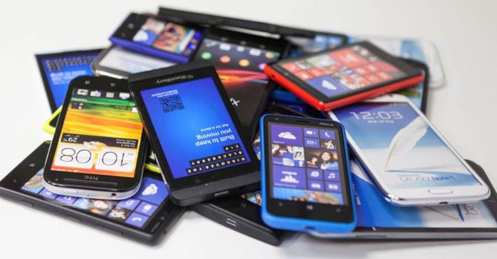 Smartphone sold worldwide