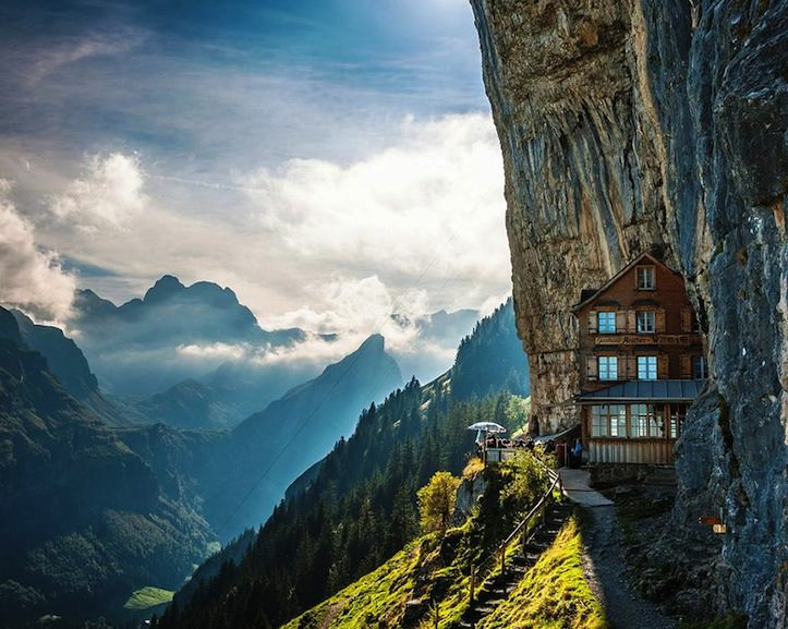 Ascher Cliff Switzerland