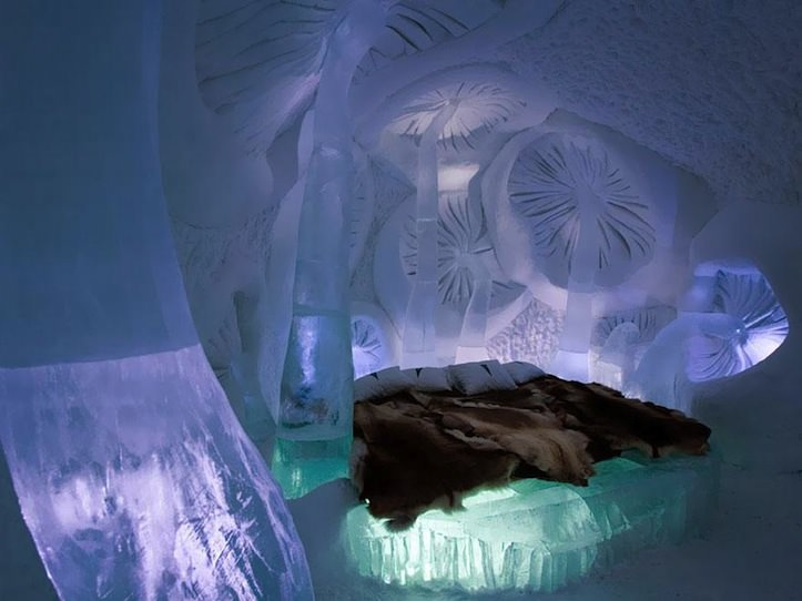 14 Ice Hotel in Jukkasjarvi Sweden