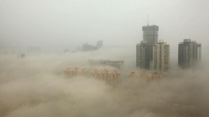 北京のPM2.5が予想以上にヤバイ