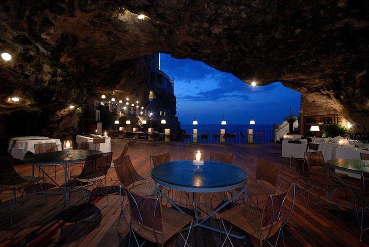 7 Hotel Ristorante Grotta Palazzese Polignano a Mare Italy