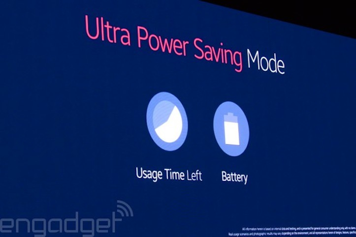 Galaxy S5 battery life