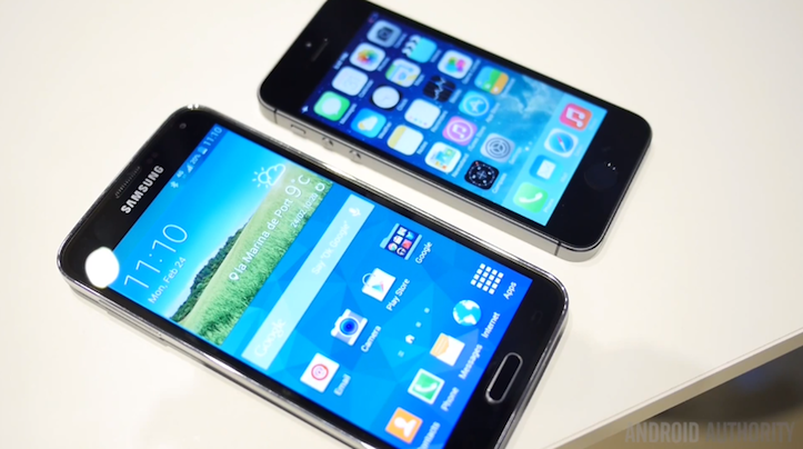 Galaxys5 or iphone5s