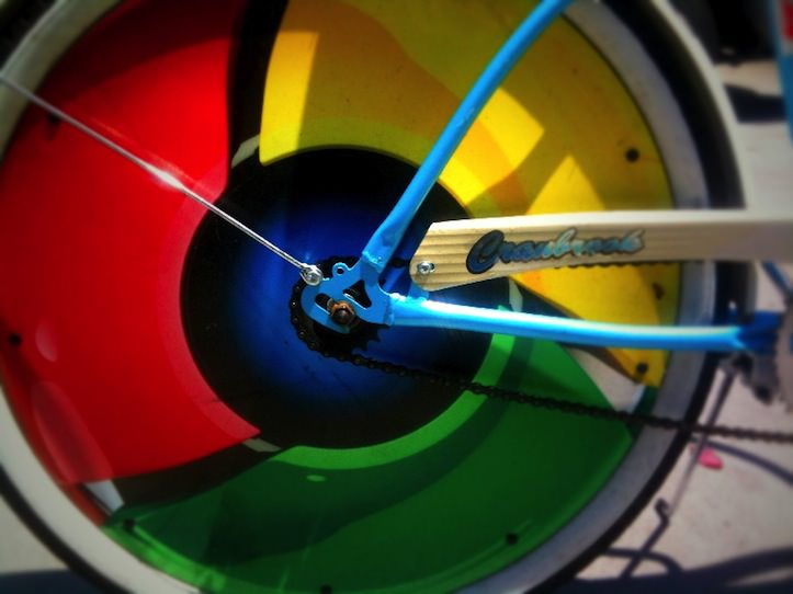 Google chrome bicycle