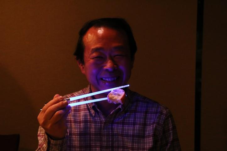喜ぶ還暦の小川先生