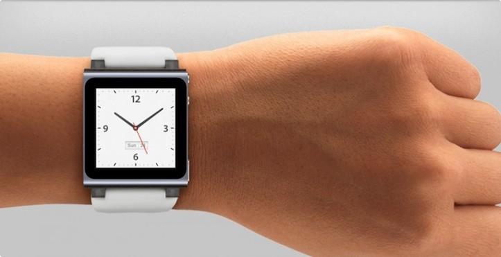 iPod nano watchface wrist