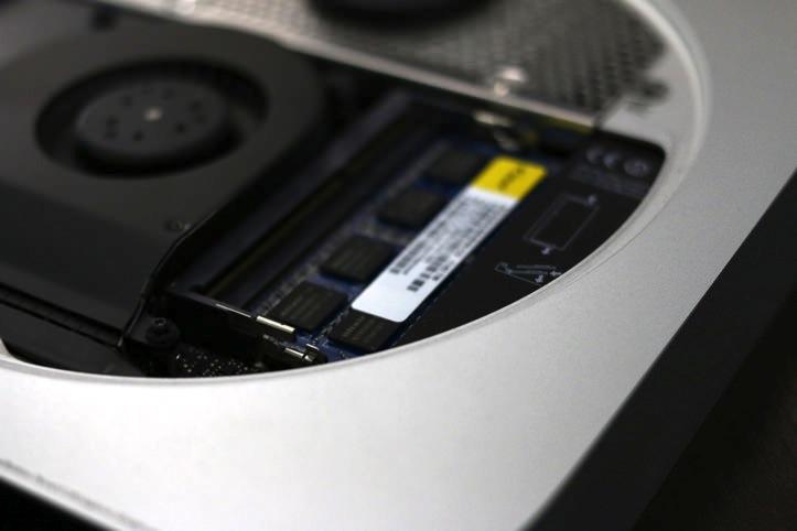 Mac mini メモリ(RAM)交換する方法