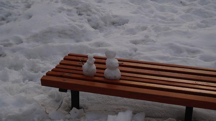 Mini snow men