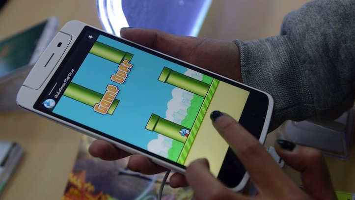 Why flappy bird was taken off