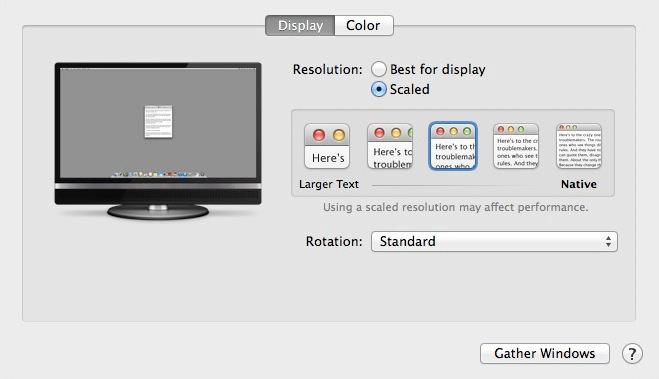 MacBook Pro Retina with 4K display