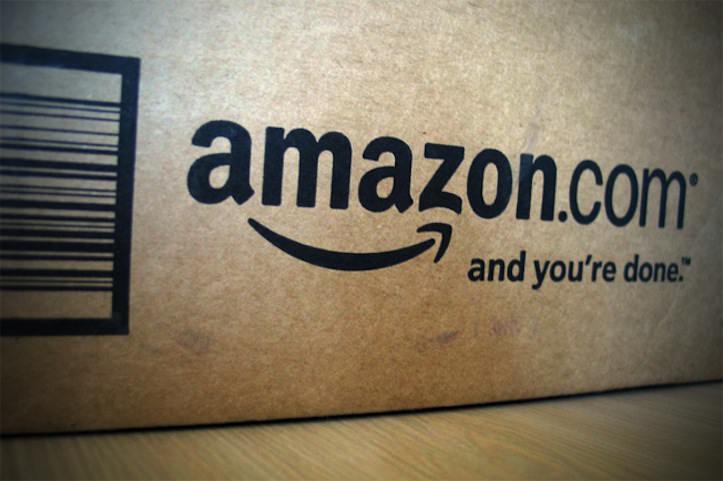 Amazon sign box