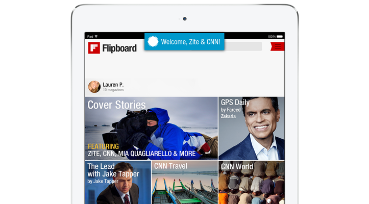 Flipboard buys Zite
